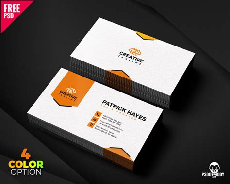 business card design  psd set psddaddycom