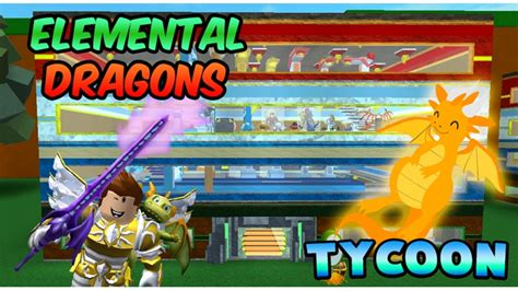 elemental dragons tycoon spagz blox