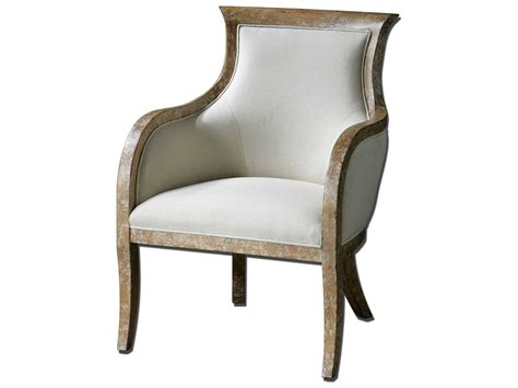 Uttermost Quintus Linen Accent Chair