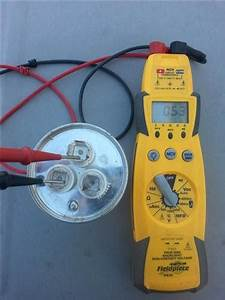 Ac Unit Has Two Capacitors