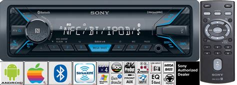 Sony Car Radio Stereo Bluetooth Usb Aux Apple Android