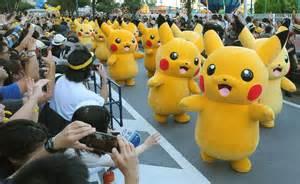 Old World Cabinet by Hundreds Of Pokemon Go Aficionados Flock To Yokohama To