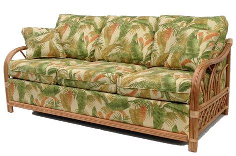 rattan settee rattan sleep sofa