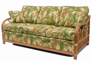 Rattan sofa beds sofa bed design rattan beds traditional for Wicker futon sofa bed