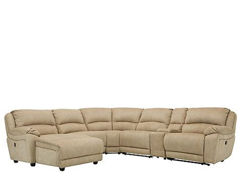 mackenzie 6 pc power reclining sectional sofa sectional sofas raymour and