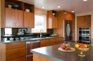 kitchen ideas with maple cabinets alki kitchen remodel midcentury kitchen