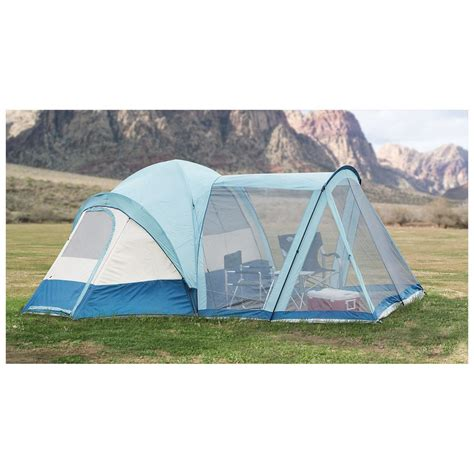 cabin tent with porch texsport 174 meadow porch tent 232439 cabin tents