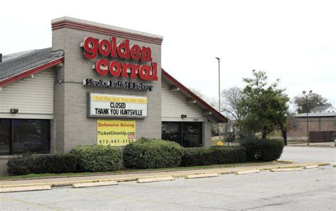 corral golden huntsville restaurant closed lot late sign parking week itemonline closing years building business