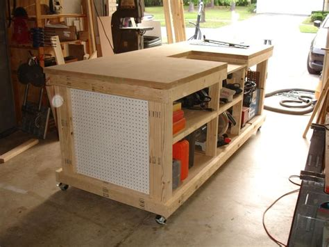 backyard workshop ultimate workbench woodworking