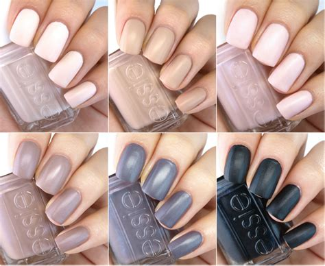 matte nail color essie matte 2015 collection review and swatches