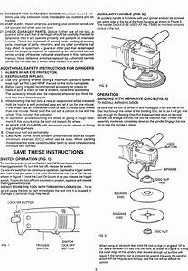 Craftsman 900277230 User Manual Angle Grinder Manuals And