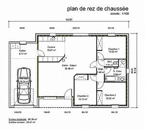 plan de maison en v plain pied 4 chambres cool plan With awesome dessin plan de maison 13 baignoire dangle