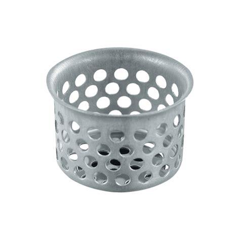 waxman    stainless steel sink strainer basket
