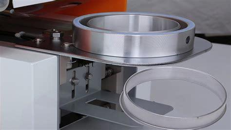 pre cut foil sealing machine cups sealer semi automatic heating seal machinery kob khtm alaal