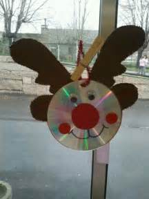 CD Christmas Crafts Pinterest