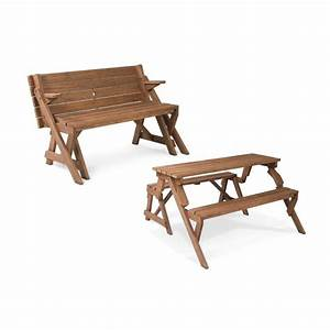 Shop Leisure Season 4-ft 7-in Brown Wood Rectangle Picnic