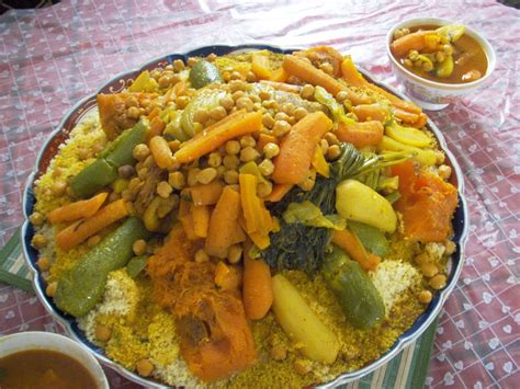 cuisine marocaine couscous couscous
