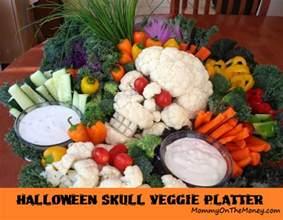 the right on vegan veggie platter cauliflower skull