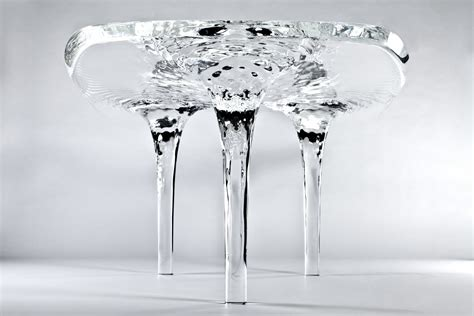 Biscuit Filmworks A Place For Comfortable Creative Work by Liquid Glacial Dining Table By Zaha Hadid Decoholic