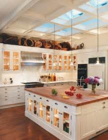 Islands In The Kitchen 25 Captivating Ideas For Kitchens With Skylights