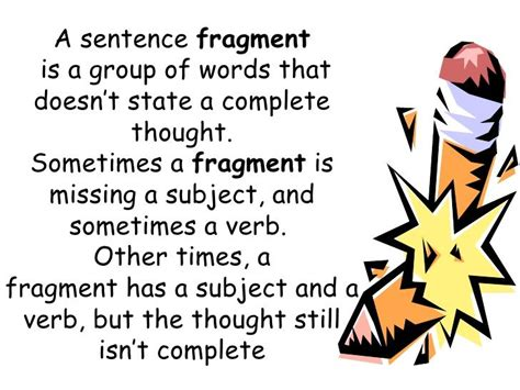 Best 20+ Sentence Fragments Ideas On Pinterest  Sentences According To Structure, Writing