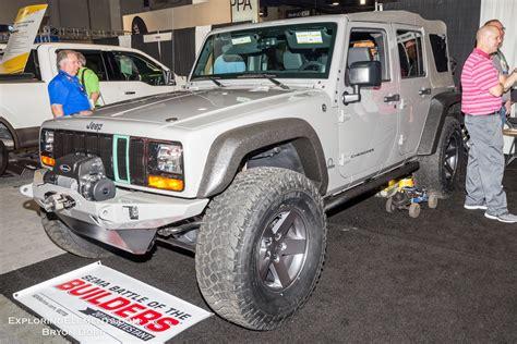 sema jeep 2016 every jeep at sema 2016 expedition portal