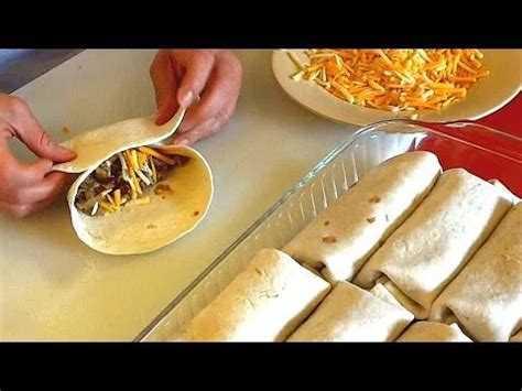 how to make a burrito burrito recipe how to make burritos family style youtube