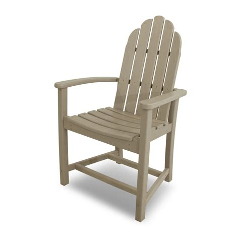 polywood 174 classic adirondack dining chair add200
