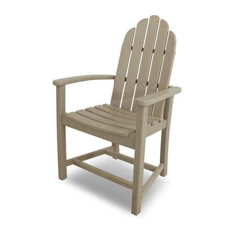 polywood 174 classic adirondack dining chair add200
