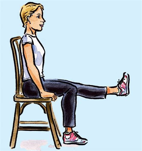 9 best images of printable chair exercises for seniors