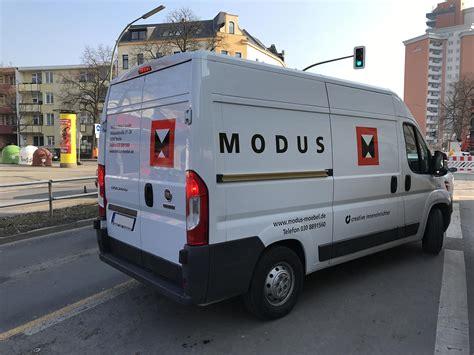 Modus Möbel Berlin by Modus M 246 Bel Werbe Fabrik Berlin Fahrzeugbeschriftung