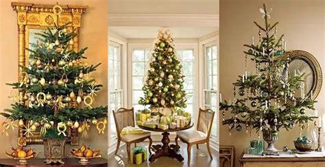 table for christmas tree decor tabletop christmas trees reviving charm 2867