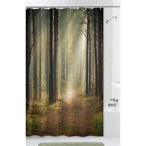 Outdoor Patio Curtains Walmart by Mainstays Trailblazer Fabric Shower Curtain Walmart Ca