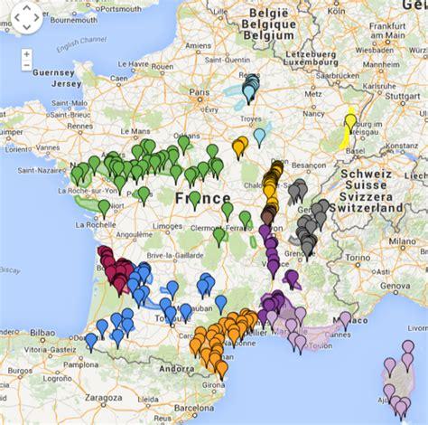 Carte De Des Vins Pdf by Carte De Des R 233 Gions Et Appellations