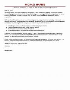 best accounting finance cover letter examples livecareer With cover letter for financial accountant job application