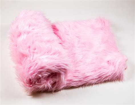 108 X 60 Light Pink Faux Fur Shaggy Throw Blanket Breathable Swaddle Blankets Get A Blanket Bubba Blue End Of Bed Box Felted Wool Crochet Christening Hand Sewn Tie Together Kits