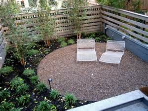 great backyard patio design ideas pictures with white lounge chair in small garden grezu
