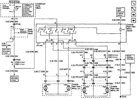 2003 chevy trailblazer electrical schematics chevy wiring diagram