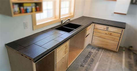 Tile Countertop by Installing A Tile Countertop Ibuildit Ca
