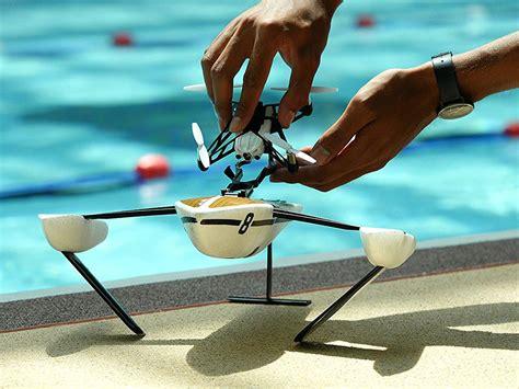 parrot minidrone hydrofoil news  water drone