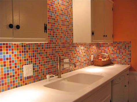 colorful kitchen backsplash glass tile kitchen backsplash pictures imagine the