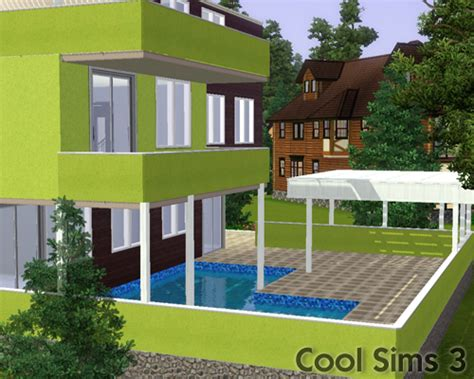 Cool Sims 3's Ultimate Modern House