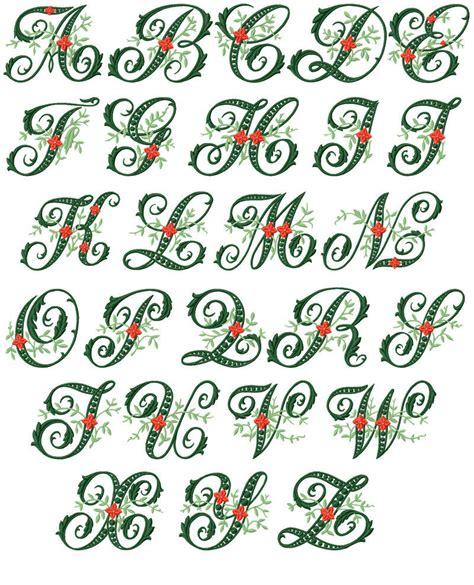 abc designs wildwood ivy font machine embroidery designs  hoop ebay