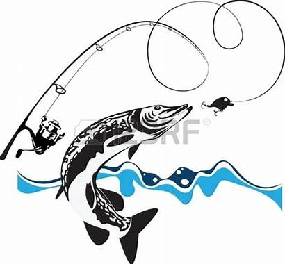Fishing Pole Vector Clipartpanda Spinning Pike Reel