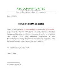 Resume Cover Sheet Template Summer Internship Completion Certificate Format Sle