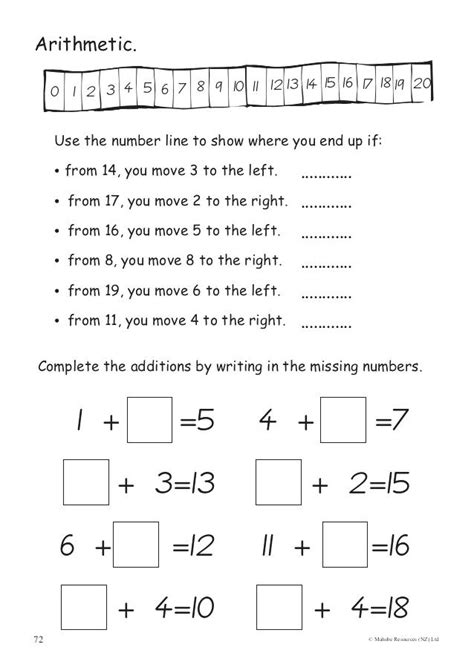 free printable activities for 8 year math worksheets 7
