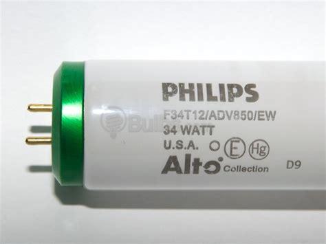 philips 34 watt 48 inch t12 bright white fluorescent bulb