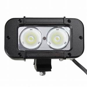 Jeep led flood lights : W cree led work flood light lamp off road car boat jeep