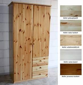 Kiefer Möbel Weiß Streichen : massivholz kleiderschrank kiefer massiv ~ Michelbontemps.com Haus und Dekorationen
