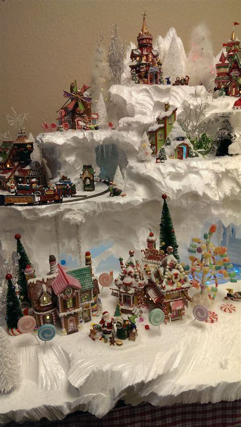 north pole mountain  christi  village idiot